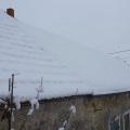我家后院的雪真的很美哦