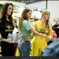 2018米兰国际摩托车展-拍美女
