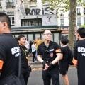 巴黎美丽城华人游行摄影