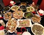 这是我家年夜饭祝大家新年快乐!多多发财!