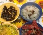 今天星期一燒個白蘿卜加道紅燒蝦。