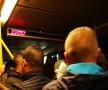 今天的bus挤死人了