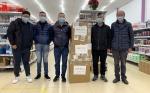 """""""守望相助 同舟共济""""巴塞罗那文成文成侨胞收到家乡捐赠的抗疫物质 ..."""