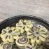 亲戚在自家田地里种了点蔬菜自己吃,今年的紫番薯大丰收,