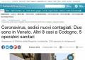 意大利新增10位新型冠状肺炎感染者
