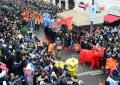 中国龙狮喜贺岁 春节文化风靡意大利
