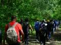 91省mennecy徒步15公里徒步照片