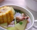 【玉米冬瓜排骨汤做法】养生又好吃! ? ????