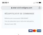 现在网上申请孩子的出生纸 怎么要收费29欧元啊?那么如果直接去mairie 是免费的 还是一样要收费