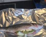 今天做的烤鱼,好吃简单方便又干净