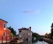 在威尼斯一個小島上白天很多旅游客晚上很安靜