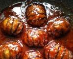 【蒜蓉灯笼茄子】——简单的菜来创意吃! 