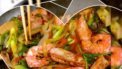 超级喜欢的香辣虾,板鸭的大红虾实惠又好吃