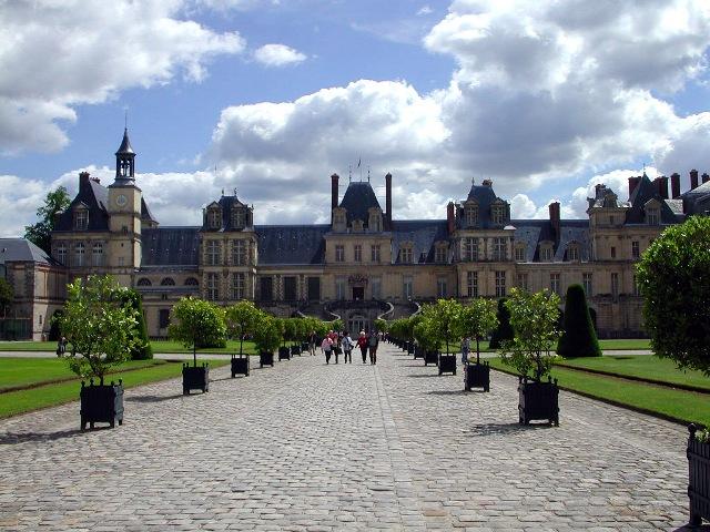 枫丹白露宫 Chateau de Fontainebleau