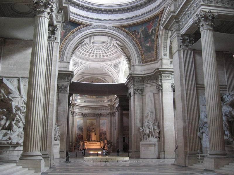 建筑手绘法国万神庙