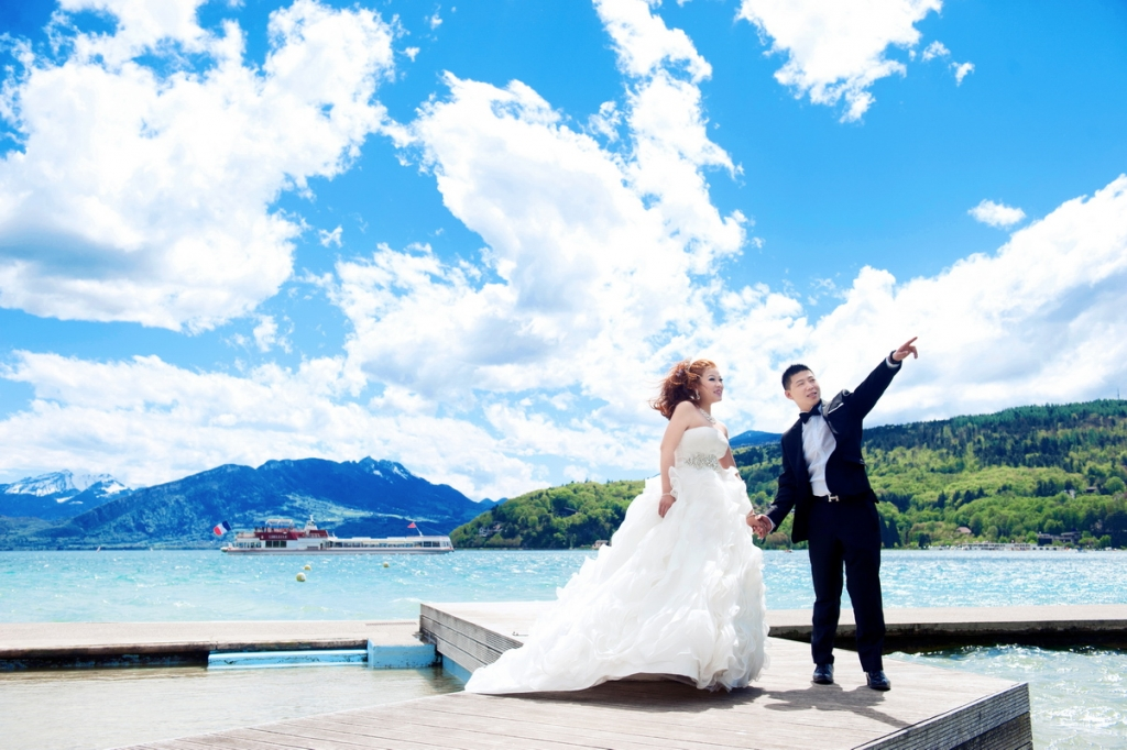 华艺影视 法国婚纱摄影 婚庆录像 影棚外景