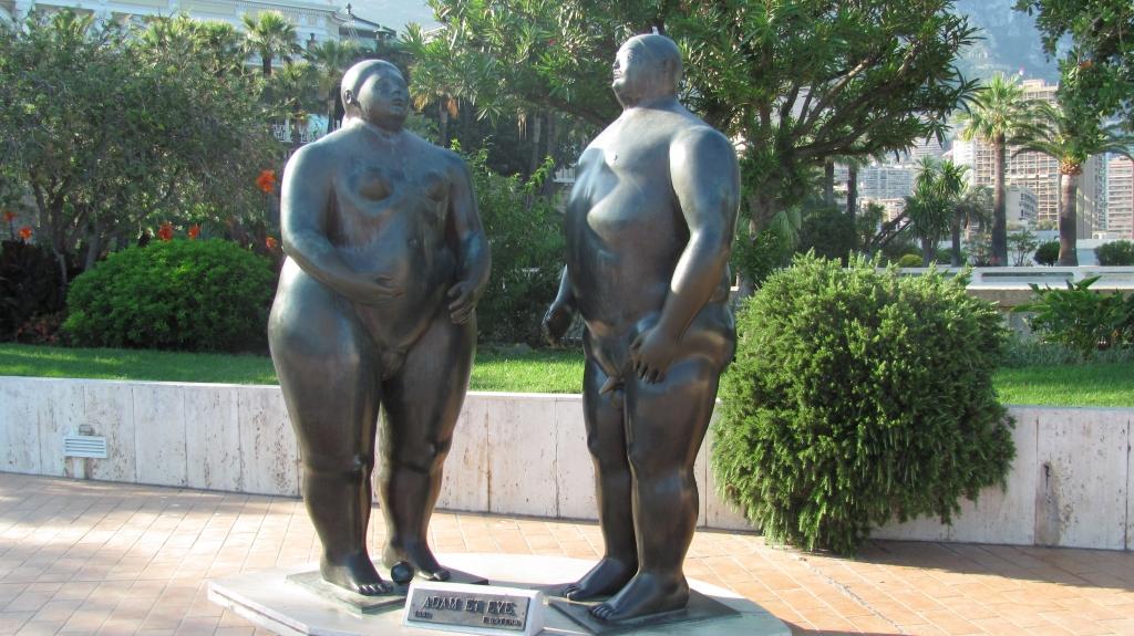 亚当与夏娃,跟想像的相差太远