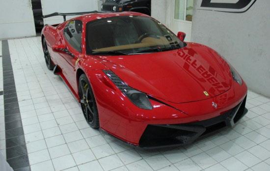 改装 法拉利458 Italia