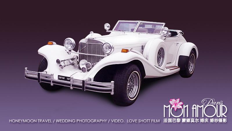 婚礼花车:老爷车,加长车,马车租赁