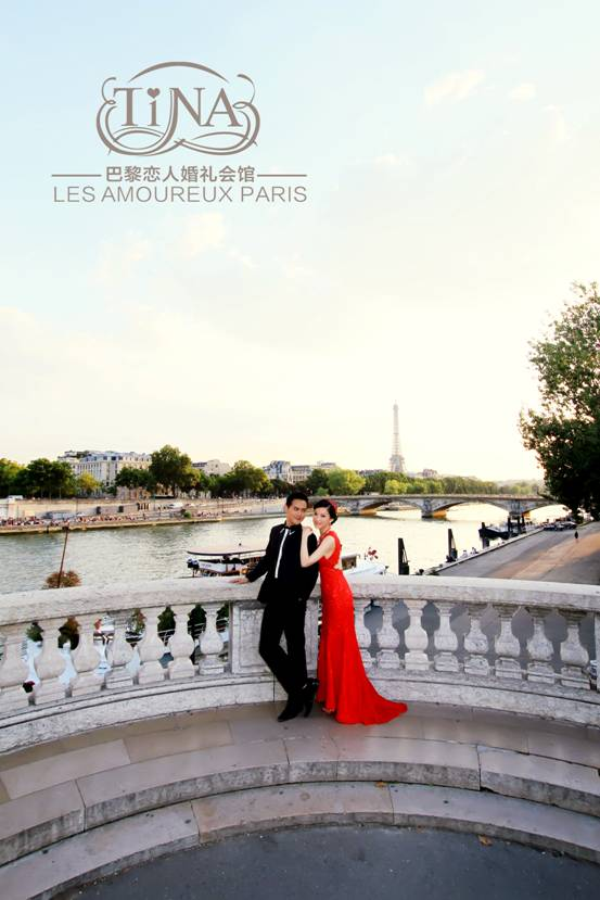 TINA 巴黎恋人婚礼会馆 婚纱摄影+婚礼跟拍+