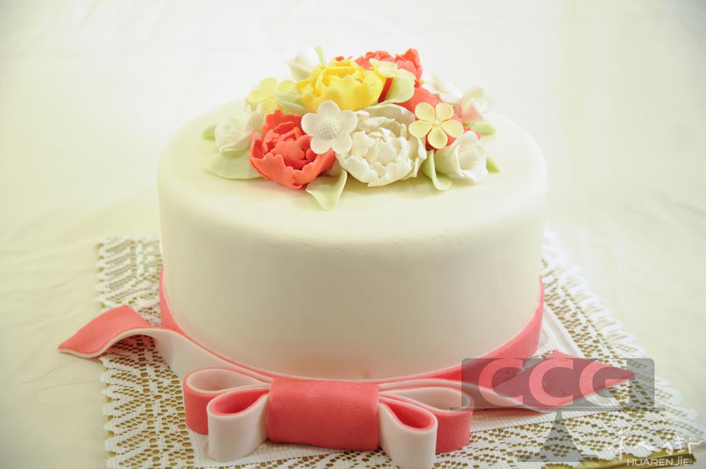 茜茜翻糖艺术蛋糕