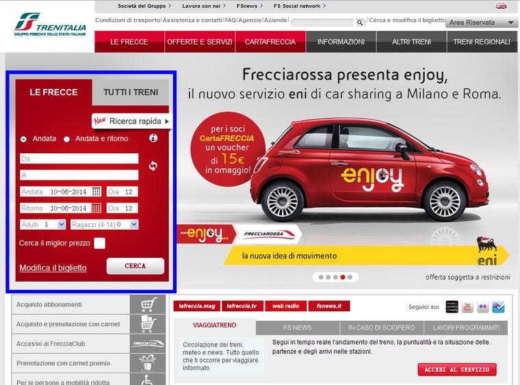 手把手教你在意大利Trenitalia官网购买火车票 生活百科 第1张