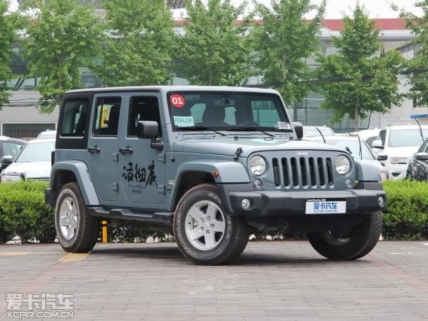 Jeep全新牧马人信息 将搭8速自动变速箱