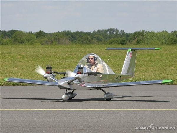 世界最小的载人飞机 只要人民币10万块