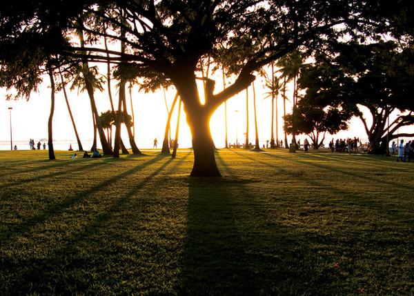 日落构图 不同角度拍出美丽夕景