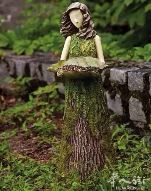 神奇的树木雕刻