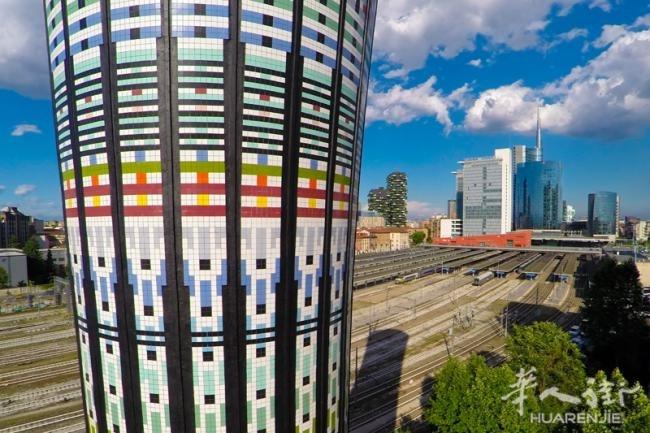 意大利米兰水塔的改造项目
