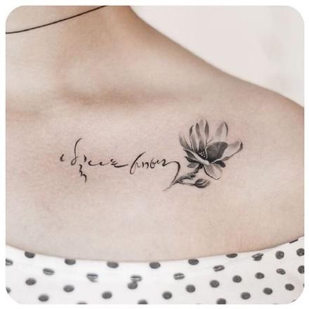 论坛 69 华人大家庭 69 街口茶坊 69 tattoo* 花朵小纹身参考