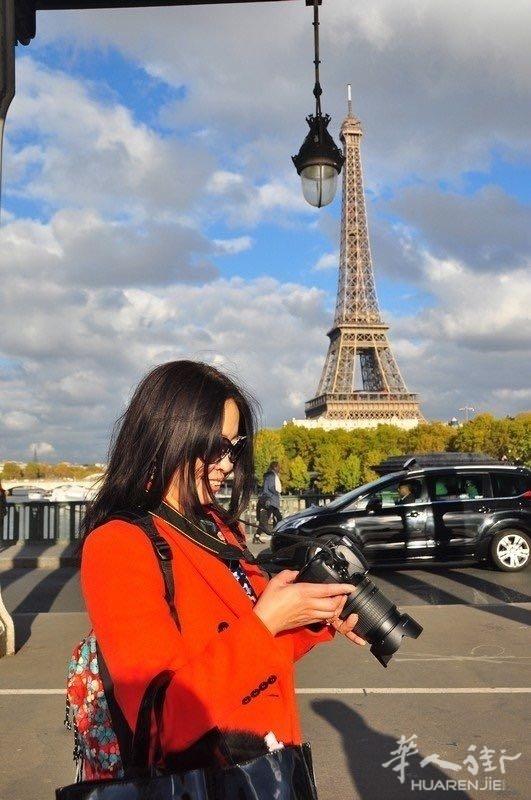 秋日的私语 巴黎铁塔