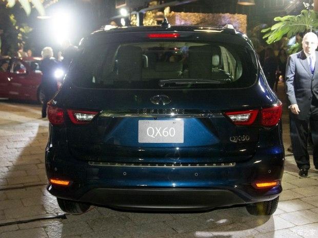 北美车展发布 新款英菲尼迪qx60实车