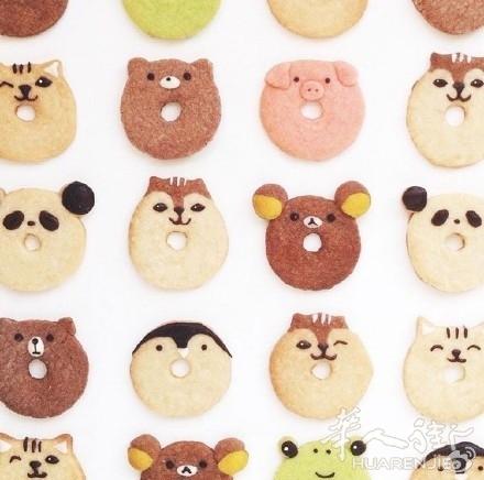 可爱的小动物造型饼干~