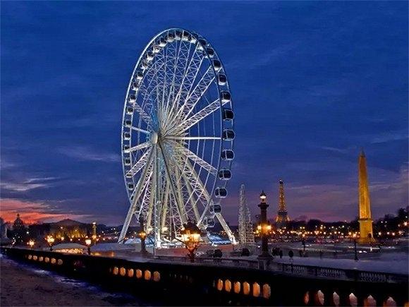 去法国旅游,观赏埃菲尔铁塔的最佳视角