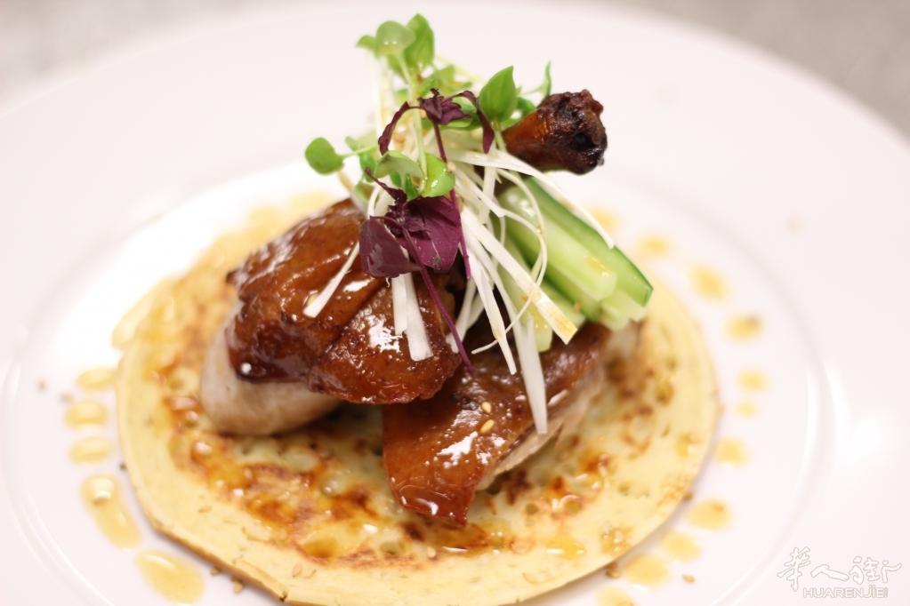 我把中餐带入法国米其林餐厅之北京烤鸭