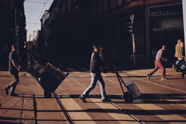 手机摄影 光影唐人街