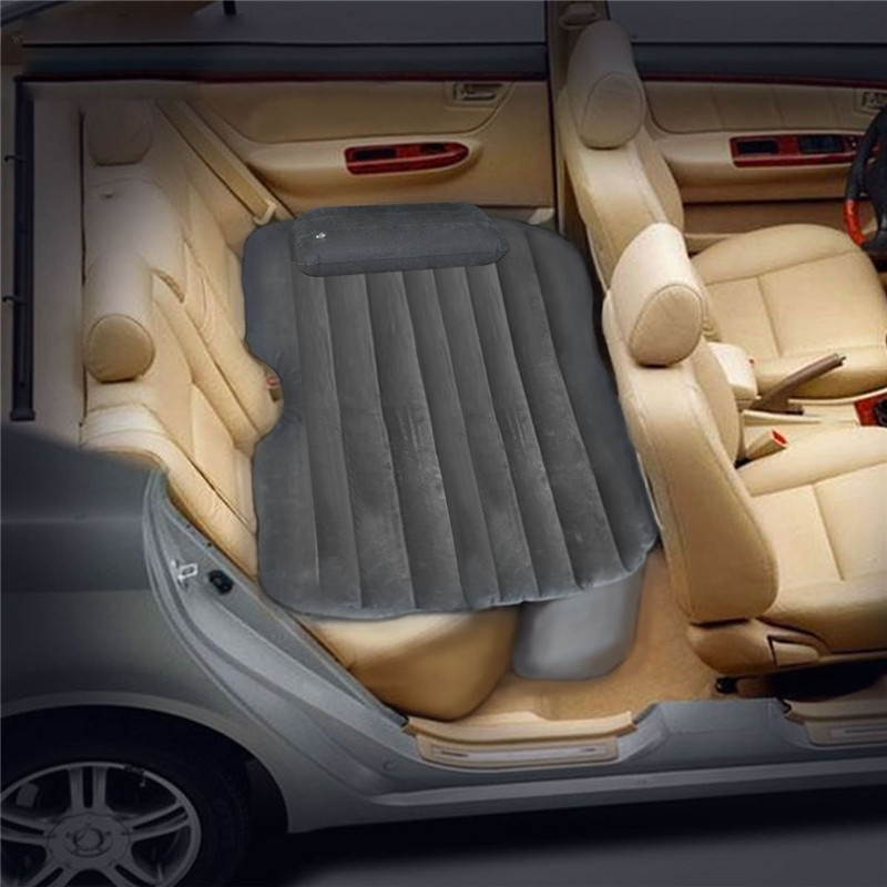 汽车车载充气床垫车震床成人睡垫车中旅行轿车后排充气床高清图片