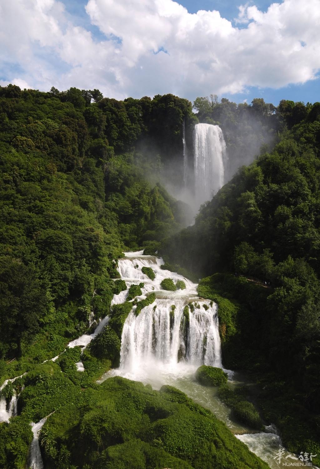 6月29日一起去欧洲最大的人工瀑布看看[罗马]