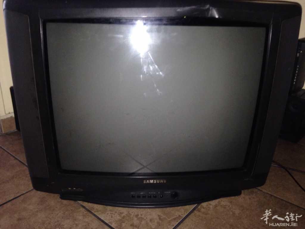 出售25英寸三星彩色电视机