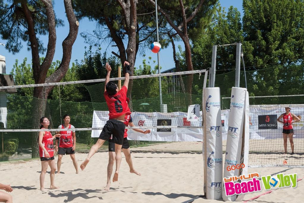 第一届意华杯沙滩排球结束 闲聊意大利 第一届意华杯沙滩排球结束 闲
