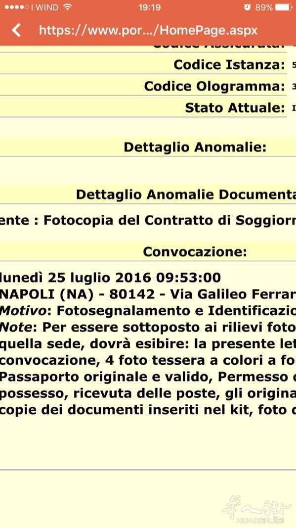 Fotocopia del Contratto di - 意大利你问我答- 华人街网