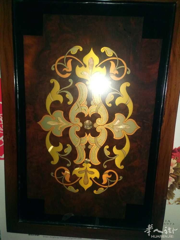 出售实木镶嵌艺术画