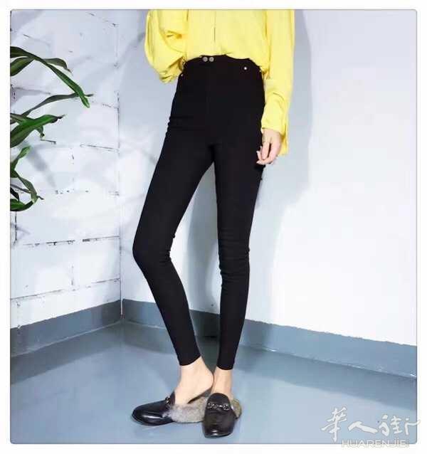 外观一模一样的魔术裤 分为加绒款和不加绒款,全部