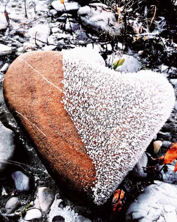 微妙的自然 冰封的石心
