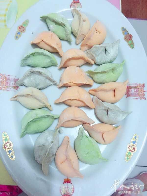 100饺子20想要什么馅都有,颜色自己定,这些颜色