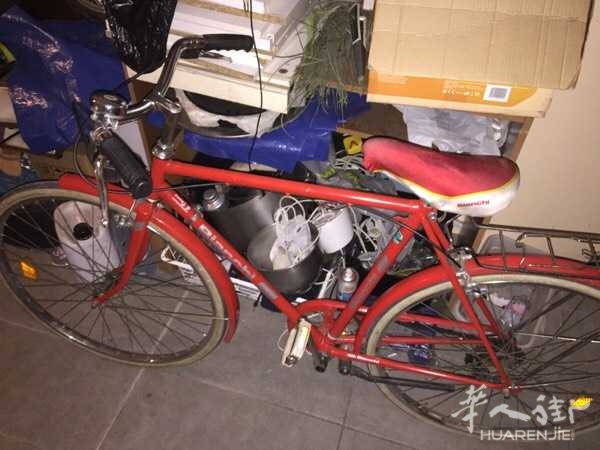 要回中国了,八成新自行车,45元甩卖!3778807230