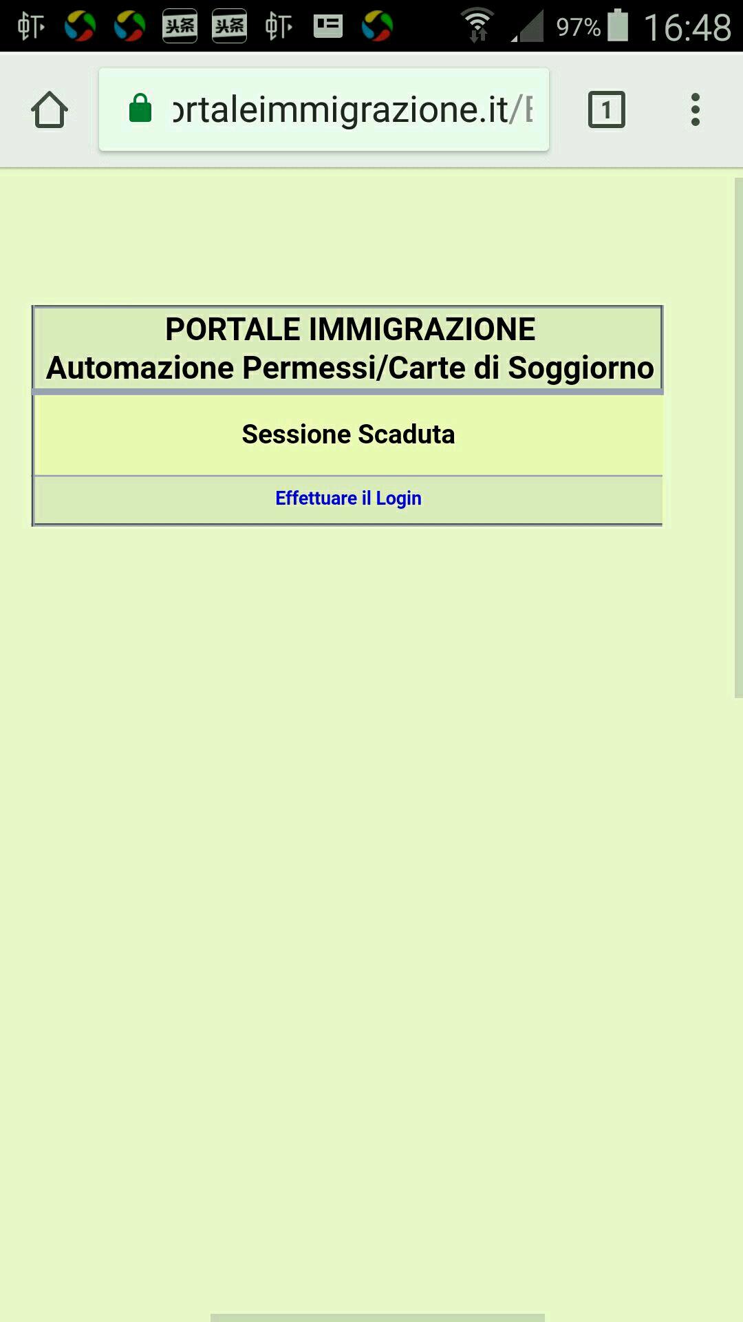 Emejing Portale Immigrazione Automazione Permessi Carte Di Soggiorno ...