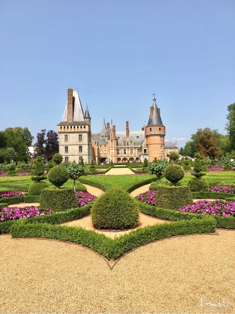 (Chateau de Maintenon)曼特农城堡游览27 Aout